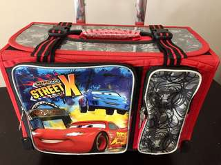 •Disney Kids Luggage by the word of cars nitroade street X  •Never been used  •Original price : 4,899
