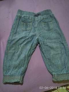Celana panjang jeans Jogger Next Baby