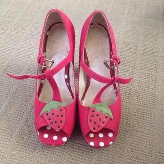 Asos Strawberry Heels 🍓🍓🍓