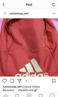 Original Adidas Backpack