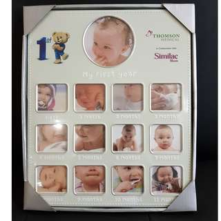 My First Year - Baby Photo Frame by TMC & Similac picture frame