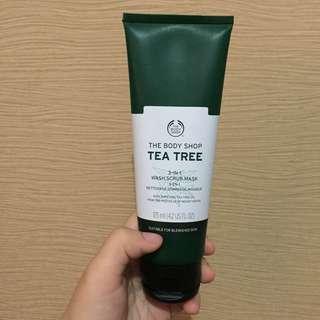 Tea Tree 3in1 Wash Scrub Mask