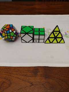 Rubicks cubes / puzzles