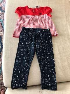 Baju & Seluar Poney Set