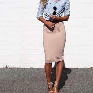 Kookai body con skirt