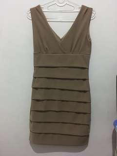 Bodycon Dress Coklat
