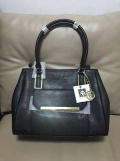Anne Klein Satchel Black Bag