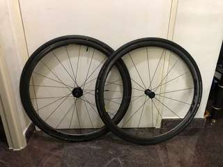 Giant slr1 carbon wheelset