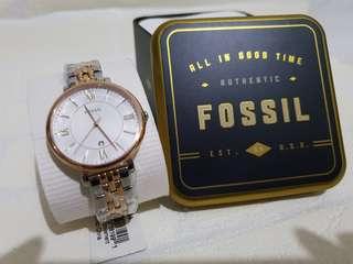 Jam tangan wanita Fossil original