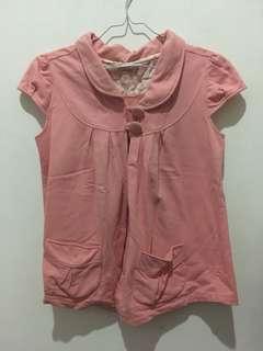 Blazer luaran pink