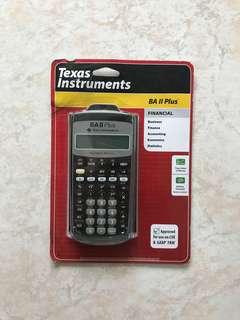 Texas Instrument BA II Plus
