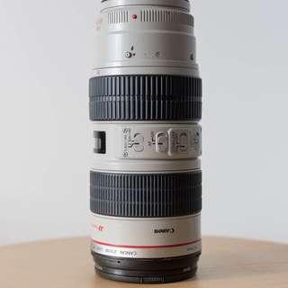 WTS: EF 70-200 F2.8L IS USM - $1100