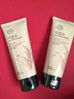 FACESHOP RICEWATER FOAMING CLEANSER