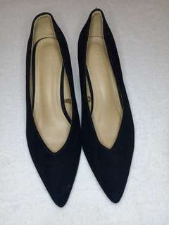 PARISIAN Black Pointed Shoes SIZE 8