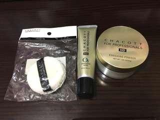 Chacott HD base + HD powder