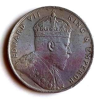 Straits Settlement coin (1907)