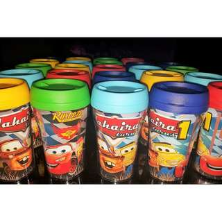 Cars Customized Hot & Cold Tumbler