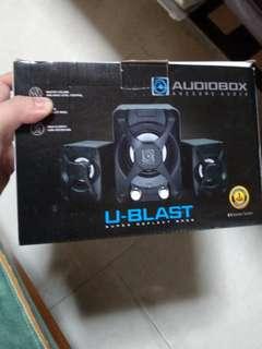 🚚 Audiobox U-Blast Speaker