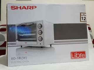 Turun harga! Sharp oven listrik 18L (W)