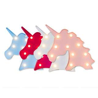 Lampu unicorn light tumblr fairy lights