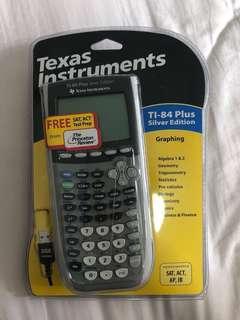 Texas instrument TI 84 Plus Silver Edition