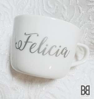 Customised porcelain cups