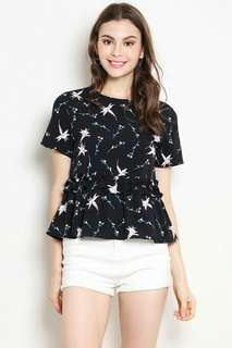 Shopsassydream SSD Darrine Top Floral