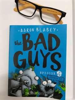 (NEW) SCHOLASTIC- The Bad Guys *Episode 4*