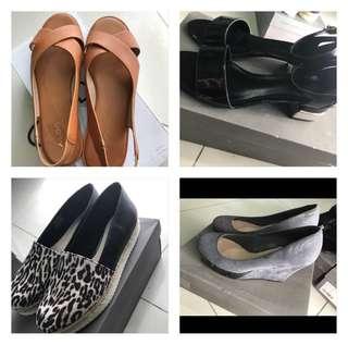 Aldo n charles & keith shoes