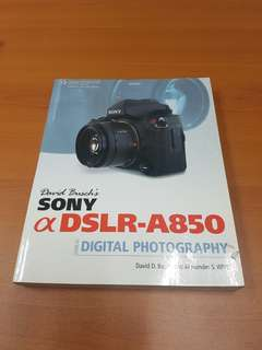 Sony camera book by David Busch