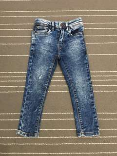 Skinny Jeans Acid Wash