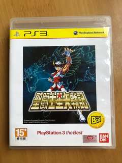 PS3 game 聖鬥士星矢戰記