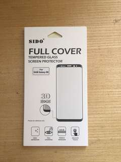 SIDO Samsung S9 Full Cover Glass Screen Protector