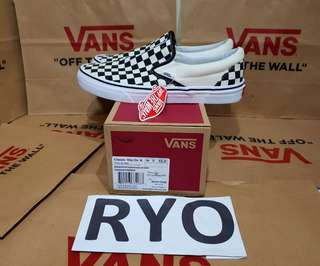 Vans Classic Slip On Checkerboard not og oldskool old skool vault anaheim