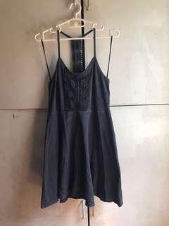 Forever 21 faded black dress