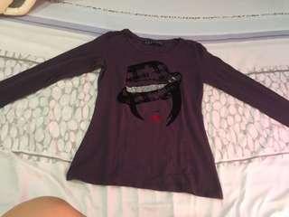 Zara violet longsleeves