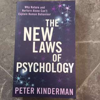 The New Laws of Psychology : Peter Kinderman