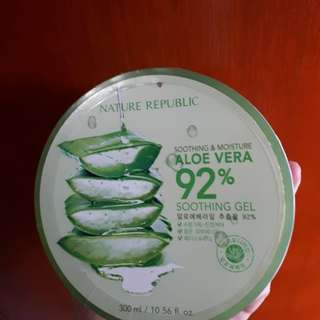 Nature republic aloevera 92% soothing gel