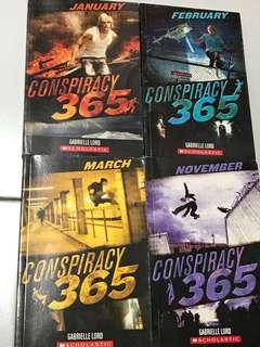 Scholastic conspiracy 365