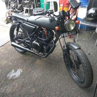 Rare Sacin ACE 125 Motor bike
