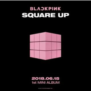 (GROUP ORDER) BLACKPINK SQUARE UP 1ST MINI ALBUM