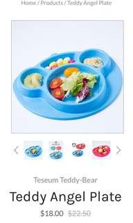 Baby Anti Slip Devided Feeding Plate