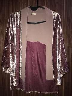Authentic Zara Suede Cardigan