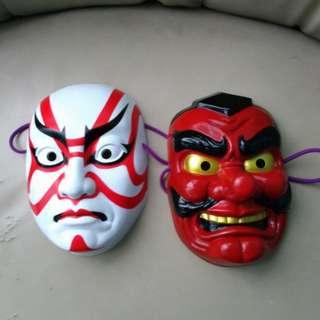 Authentic Japanese Masks