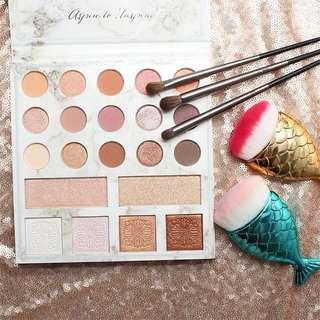 AUTHENTIC BH Cosmetics Carli Bybel Eyeshadow & Highlighter Palette