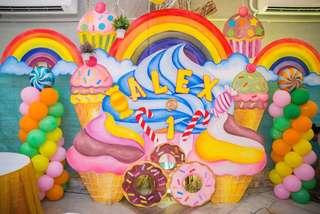 Candyland them sytro backdrop