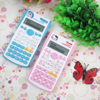 Hello Kitty/Doreamon Scientific Calculator