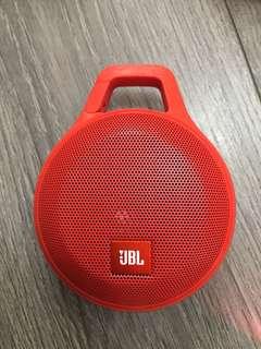 JBL clip+ 藍牙喇叭 陳列品 橙色