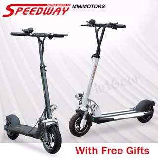 Electric Scooter Speedway 3 Brand New Ready Stock / escooter with Suspension and Disk Brake Front Light Rear Lamp