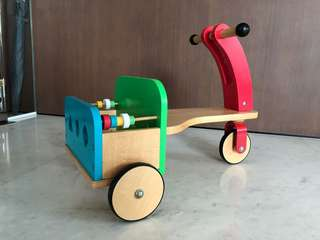 ELC wooden toddlerpush trike